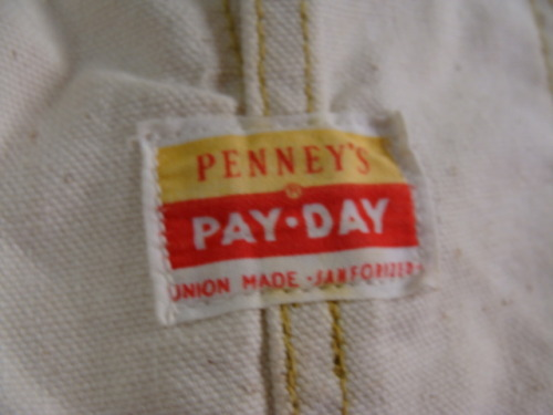 nothingnewvintage:  1950's Union Made JC Penny Pay Day