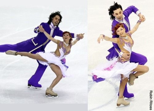 Jana Khokhlova and Sergei Novitski's Golden Waltz costumes at the 2010 World Championships. Sources: www.zimbio.com/pictures/d7vNd0tKEJE/ISU+World+Figure+Skating+Championships+Day/33nb-DmTpTk photography.ice-dance.com/2009-2010-season/2010WorldChampionships/Dance/CD/10WCD60882-KN-RR.jpg.php