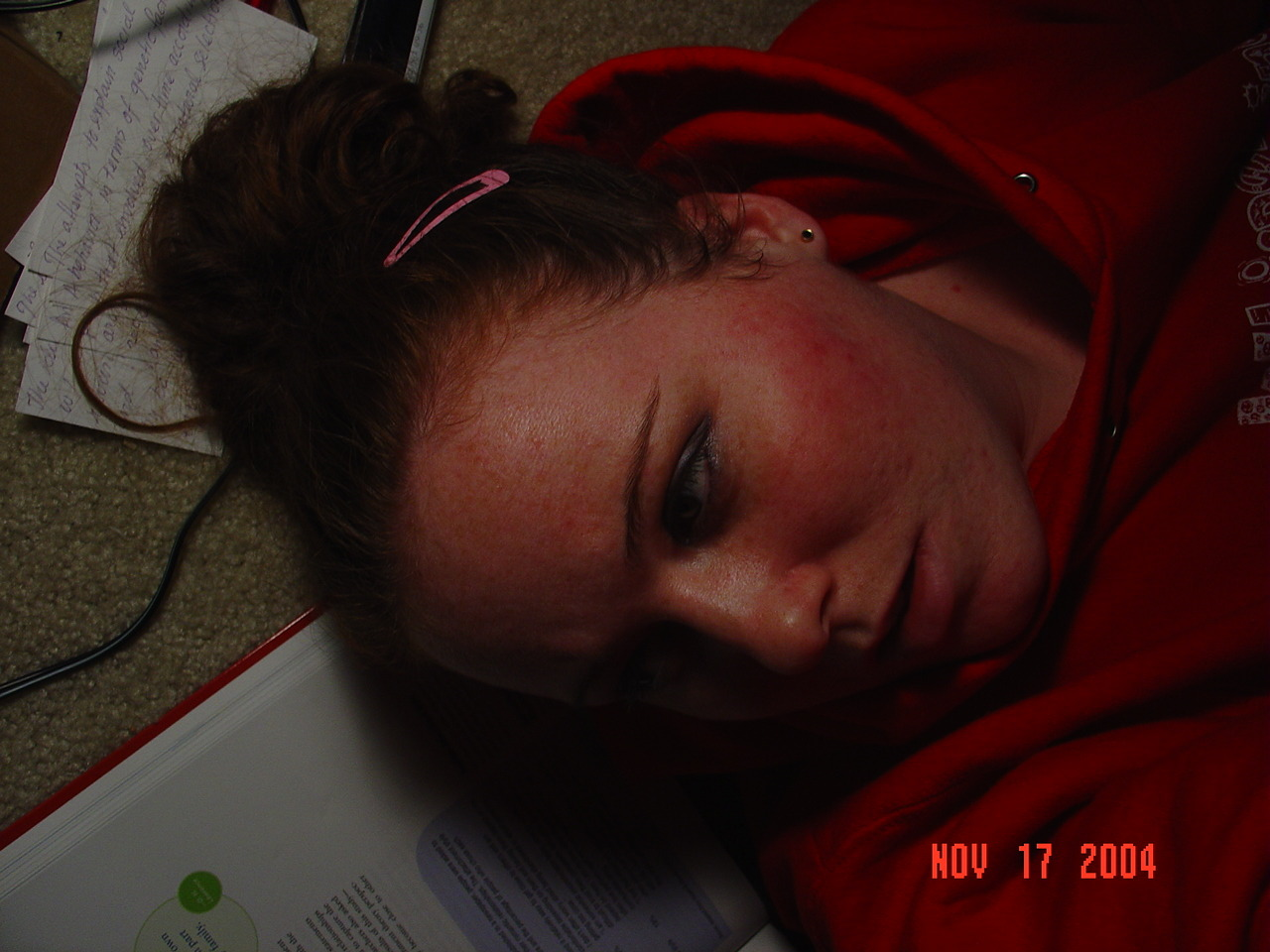 Studyin' is suh hard.
