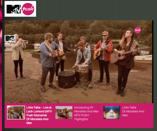 Hi friends! This week MTV PUSH has an exclusive video of us performing 'Little Talks' live at Loch Lomond, Scotland. Check it out and tell us what you think in the comments. And there's more cool stuff to come from MTV Push all through the month! *US Friends Here: www.mtv.co.uk/push *Everyone else Here: www.push.mtv.com
