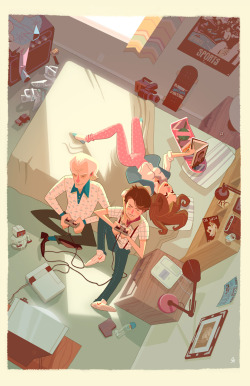 "One of the two Glen Brogan pieces is ""Marty's Room"" and we love it."