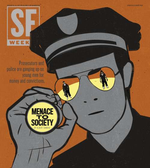 Menace to Society: August, 8, 2012  Illustration by Shout / Alessandro Gottardo