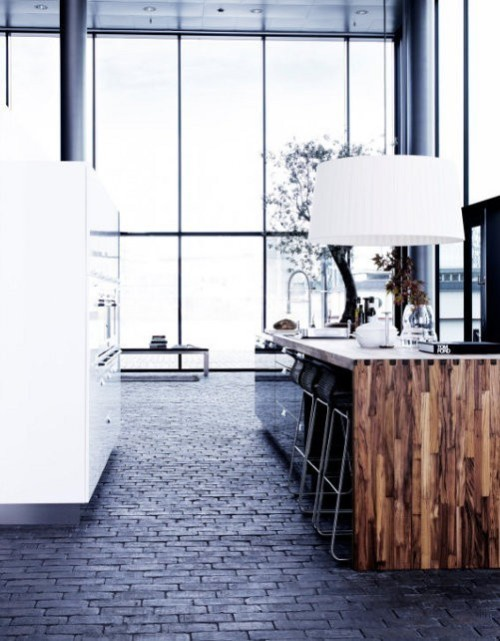 remarkable floor (via justthedesign: Style By Gitte Kjaer)