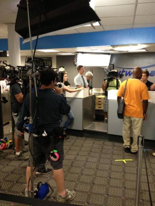 Photo from the first day on set of the new Arrested Development episodes!