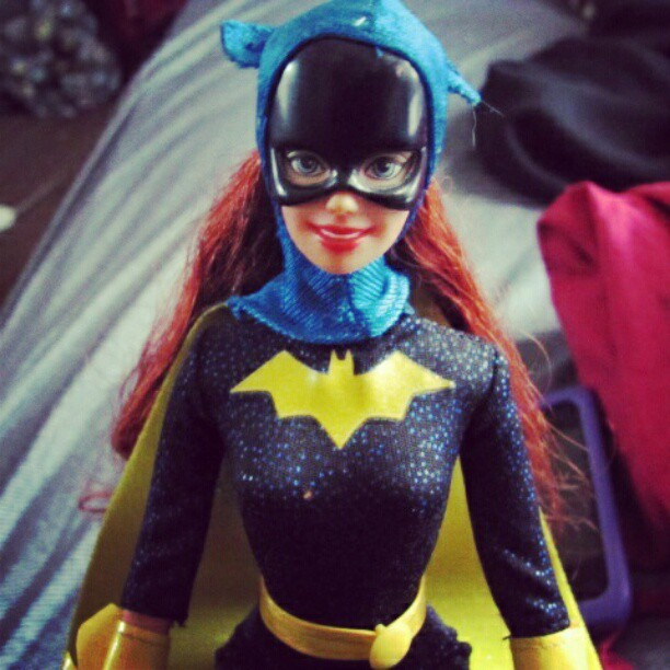 She's an action figure.