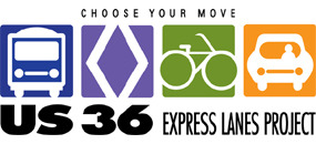 US 36 Express Lanes Informational Meeting TONIGHT - Wednesday, Aug. 8, 20126:30 to 8:30 p.m.West Boulder Senior Center (Creekside Room)909 Arapahoe Avenue, Boulder, CO 80302 www.us36expresslanes.com  The Colorado Department of Transportation (CDOT) along with Ames Granite, the design-build contractor for US 36 Express Lanes, will be holding three public meetings along the US 36 corridor to announce the start of construction and introduce the project team. Agencies, residents, businesses and other stakeholders are encouraged to attend the meeting.  At the meeting, the project team will provide an overview of the project and schedule, including traveler impacts and will be available to answer any questions. There will be no formal presentation so attendees can stop by any time between 6:30 p.m. and 8:30 p.m. The $312 million multimodal project will build an express lane in each direction on US 36 from Federal Boulevard to 88th Street in Louisville/Superior. The lanes will accommodate high-occupancy vehicles (HOVs), Bus Rapid Transit and tolled single-occupancy vehicles. In addition, the project will replace several bridges, build a commuter bikeway, add Bus Rapid Transit improvements, and install Intelligent Transportation Systems (ITS) for tolling, transit and traveler information, and incident management. For more information about the project, please visit www.us36expresslanes.com.