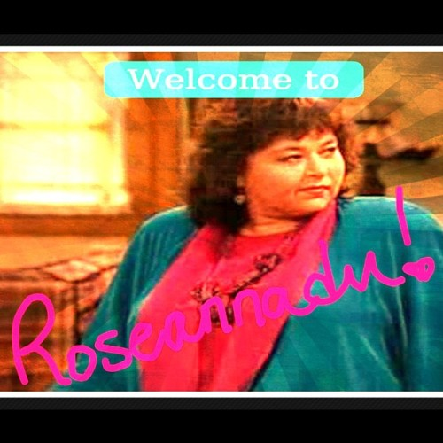 greynotgray:  I am totally watching the roast of #Roseanne on Sunday. #imadethis (Taken with Instagram)  The #RoseanneRoast airs this Sunday at 10/9c on Comedy Central.