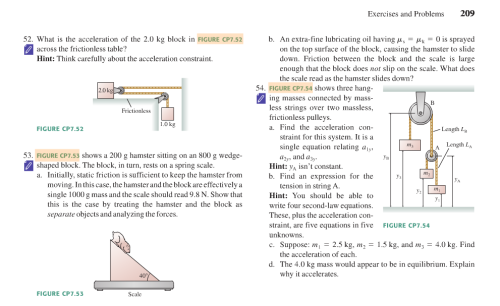 """thankstextbooks:  I'm less concerned with the question, """"What does the scale read?"""" and more concerned with the question, """"Why the hell are we lubricating a hamster?"""" — Submitted by Kristine   Relevant to my test tomorrow (minus the hamsters)"""