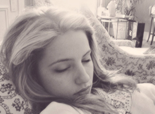 """If you know what Dianna Agron looks like at six in the morning, it's stunning — like, it's gorgeous."" -Lea Michele"