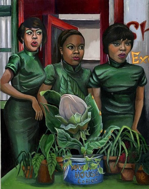 suicideblonde:  Little Shop of Horrors by Nicole Bruckman
