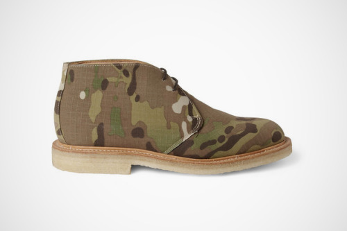 Mark McNairy Camouflage Canvas Desert Boots | Anchor Division