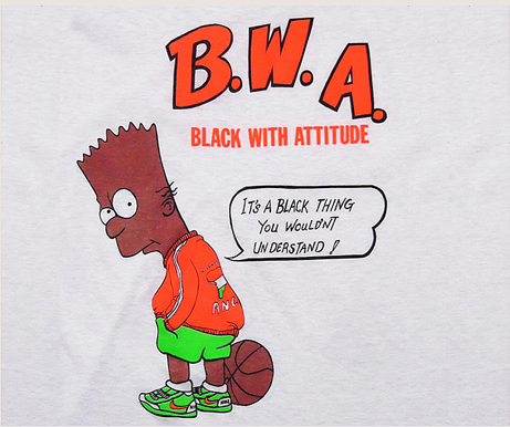 Black Bart Simpson T-shirt Source: Egotripland