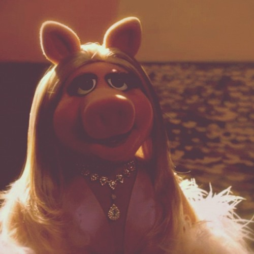 Miss Piggy….just because. (Taken with Instagram)