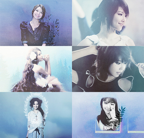 color+picspam: sooyoung and blue (requested by: pilsuks)