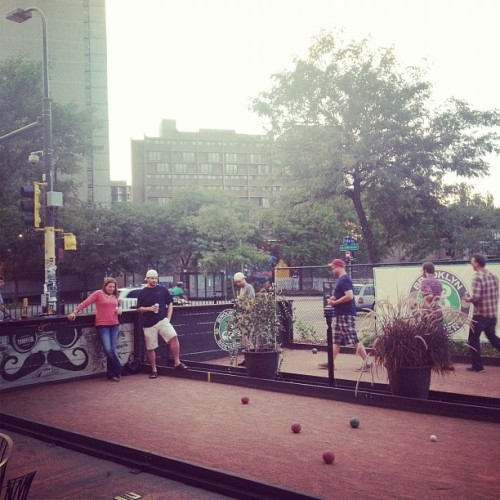 Bocce. (Taken with Instagram at The Nomad World Pub)