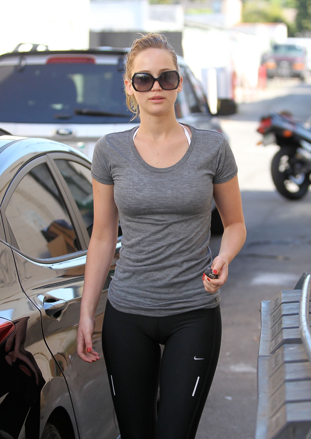 suicideblonde:  Jennifer Lawrence in LA, August 8th