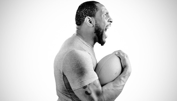 "completelysculpted:  You think you are to old? Ray Lewis linebacker for the Baltimore Ravens and one of my favorite players of all time.. He is 37 years old and is going on his 16th season in the NFL. Lewis is a 13 time pro bowler,  has won a superbowl, became a superbowl MVP, and he has been defensive player several times. And guess what, he has never lost a step! He still tackles as hard as he did when he came into the league. He runs from one end of the field to the other chasing down running backs and still one of the best linebackers in the league.. Most people would retire at that age because they cant do it anymore and cant hang with these younger guys but not Lewis. Why? Because Lewis never stops.. He never stops training and he never stops taking care of himself with nutrition.. He has a drive, a goal, and has love for football! I watched an interview with Lewis and the interviewer asked, "" How can you still play like you are 25 still"" not 100% sure those exact words but along those lines.. Lewis then broke it down for him.. Ray Lewis trains all year round, after the NFL season is over, he takes a few weeks off to rest and to be with his family. After those few weeks are up he is back in the gym, training hard but smart. He also went on with how he believes his body is a temple and treats it that way. He lives a healthy lifestyle with training and nutrition. He fuels his body with what he needs and doesn't put crap in his body. This is how Lewis can play at the age of 37 and keep up with younger guys. His body is still young which lets his mind still feel young.. He has goal to win another superbowl and loves the sport of football which drives him everyday to wake up, train hard, eat right, and live a healthy lifestyle!  So just remember, if you are going to let age define you, let Ray Lewis be a reminder to you! Yes, he is an athlete and has been his whole life. But that doesn't mean anything. If you set a goal and have the drive to reach that goal, you can do whatever you want no matter what age. You just have to take that first step towards it! Lastly, you can find these interviews with Ray Lewis on youtube."