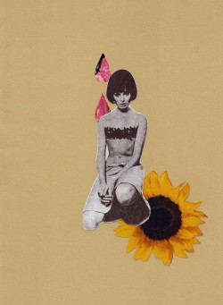 Honey Do.  A collage by Kristen Chamberlain