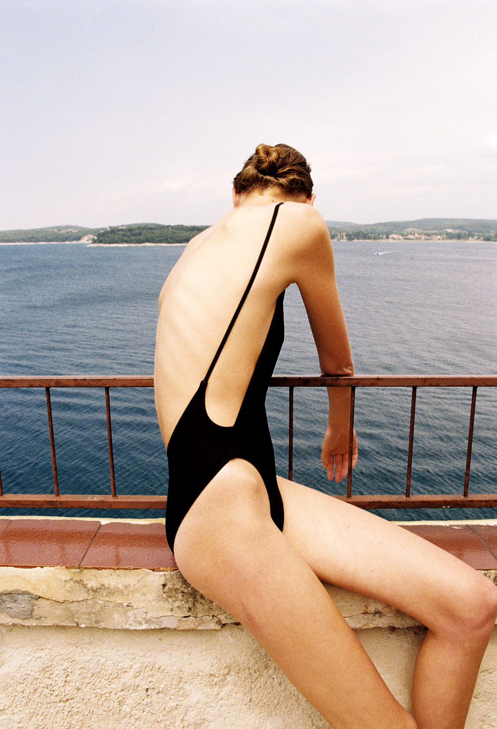oystermag:  Oyster Fashion: 'Salt Water' By Bruna Kazinoti & Mark Vassallo American Apparel swimsuit