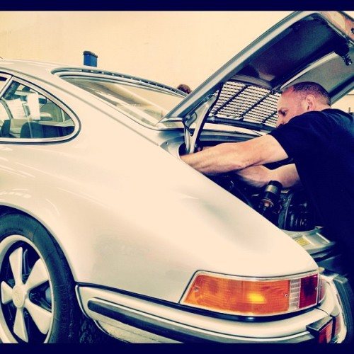 Colin and the cold start #porsche #cultofporsche #911  (Taken with Instagram)