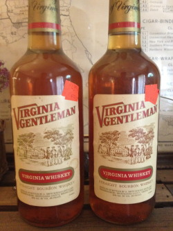 Some dusty old Virginia Gentleman.  Bottled back around '88.  Not the find of the century, but I was amazed to find any dusty bourbon in the wild.