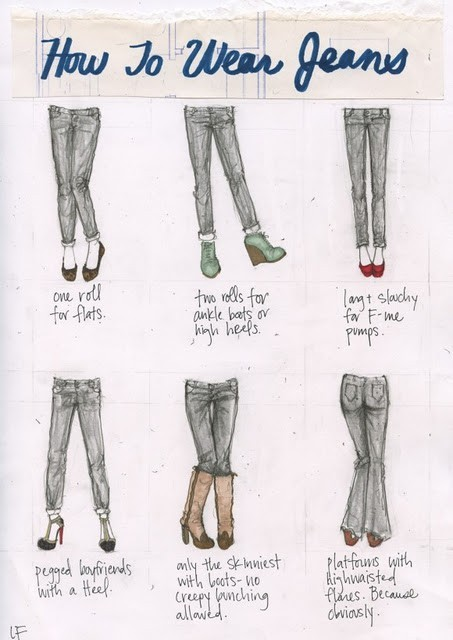 fairycandles:  romwe:  How to wear jeans  romwe.com