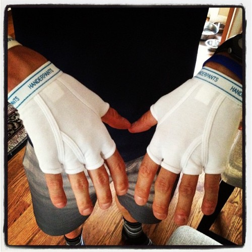 Handerpants! (Taken with Instagram)