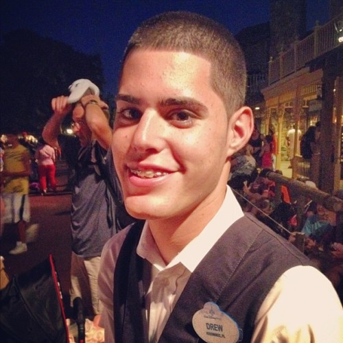 It's Drew (Taken with Instagram at Country Bear Jamboree)