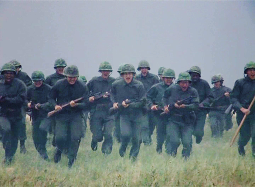 cinemaatheart:  Full Metal Jacket (1987) / Stanley Kubrick