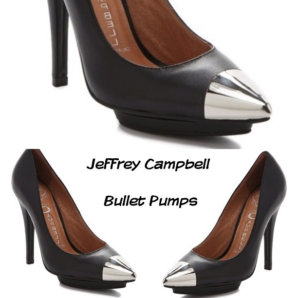 Rock it or Drop it? Jeffrey Campbell Bullet Pumps #shoes #fashion #instafashion #pumps #jeffreycampbell (Taken with Instagram)