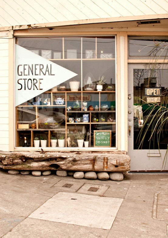foxontherun:  (via Store… someday / general store.)