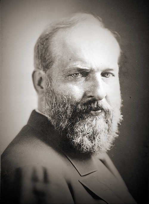 """Ideas control the world."" James A. Garfield"