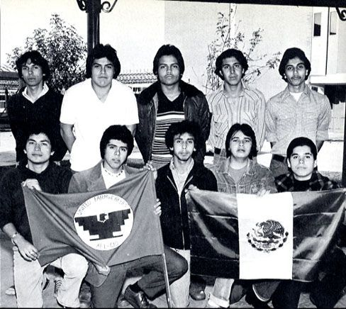Xicano members of the UFW (United Farm Workers).