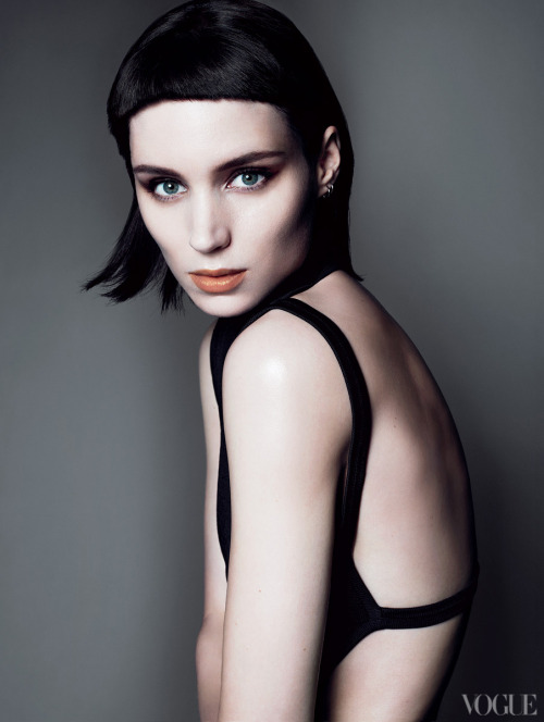 bohemea:  Rooney Mara: Playing With Fire - Vogue by Mert & Marcus, November 2011