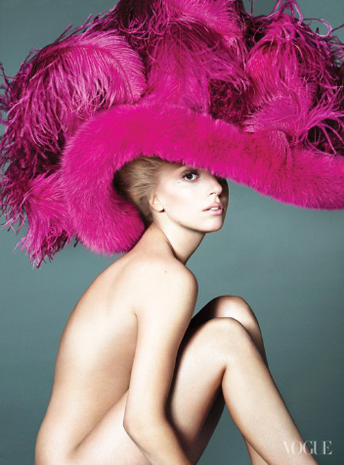 "ladyxgaga:  Whether Lady Gaga, appearing on our cover for the second time, is touring the globe with a groundbreaking extravaganza world tour or launching the most innovative perfume in two decades, she does it entirely on her own terms. As in: She said yes to Coty's request on the condition that the company not only conjure scent notes to her specification but figure out how to create a liquid that appears black in the bottle, but when sprayed, becomes clear. (After all, she points out, ""The fragrance is called Fame. It must be black. It must be enticing. You must want to lick and touch and feel it, but the look of it must terrify you."") Also on her own terms: the Born This Way Ball, her massive spectacle, which has just made its way through Asia and Australia and is destined next for Europe and the States. She banned video screens, instead dreaming up a ""fortress"" that lets her dance 50 feet above an audience of 30,000. ""I really wanted to break the mold of what modern touring is now,"" Gaga explains. This is Lady Gaga, after all, who manages to be both utterly out of this world and yet, strangely, simultaneously down-to-earth, as Jonathan Van Meter's profile reveals. The 26-year-old star is as apt to head out on the town in Versace or McQueen as she is wearing an anonymous mystery gift left on her hotel doorstep with no note and no name—a dress made of hundreds of miniature mirrors sewn into origami-like boxes. In Gaga's world, where borders blur (fantasy and reality, scary and cute), what was once risk-taking (the meat dress) becomes oddly charming (the reinvention of the meat dress is one of the highlights of the Born This Way Ball). ""We were talking about putting the show together,"" she recounts, ""and I said, OK, what if I was someone's grandma and I was going to a concert tonight. How would I know that it was a Gaga show? And we all just sort of looked at each other and said,'The meat dress.' "" That's Mother Monster, mindful of the grandmas and the Goths alike, and regardless how large her fan base has swelled (the Queen of Twitter counts more than 28 million followers), she knows many of them by name. ""I don't really make records for people to listen to and go, 'Wow, she's a genius,' "" says Gaga. ""I'd really like you to order a drink, maybe kiss the person you came with that evening, or rediscover something about your past that makes you feel even more brave."""