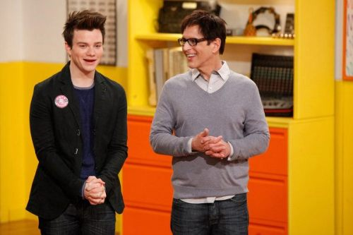 THE GLEE PROJECT — Episode 211 — Pictured: (L-R) Chris Colfer, Robert Ulrich