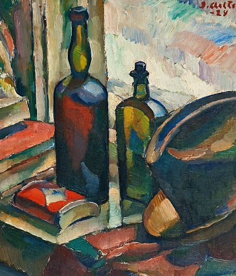Ilmari Aalto Still Life with Bottles 1929