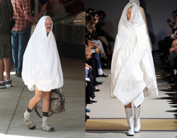 the-absolute-funniest-posts:  Tobias Fünke in Comme des Garçons S/S 2012   This post has been featured on a 1000notes.com blog.
