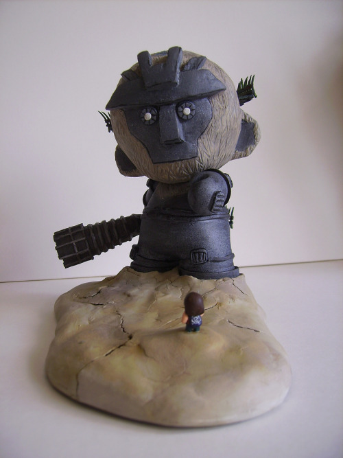 Shadow of the Munny Created by Servotron (via:thechief0)