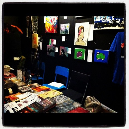 I bid on Bowie ☺ (Taken with Instagram at The ARTery)