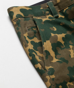 coolkidnextdoor:  A.P.C. - Army Chinos   Fashionlyoverdose Approved.