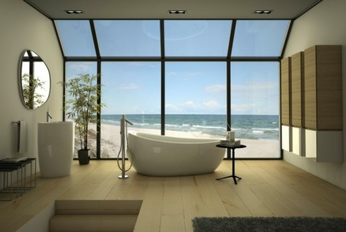 homedesigning:  (via Sleek Bathrooms by Danelon Meroni)