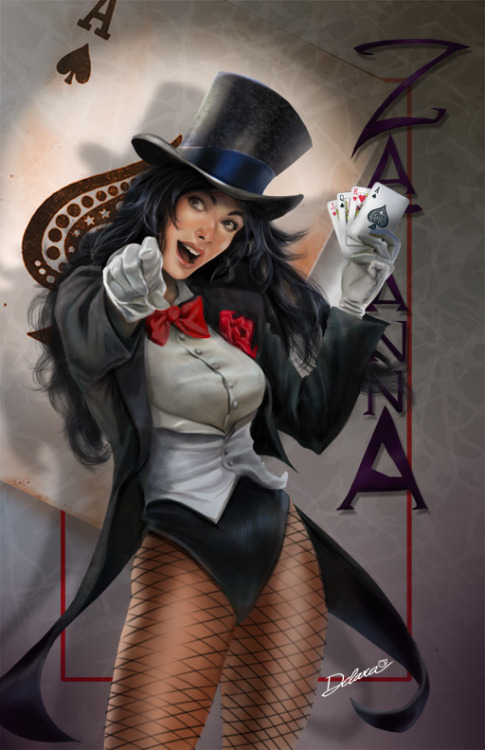 thehappysorceress:  Zatanna by Chris de Lara