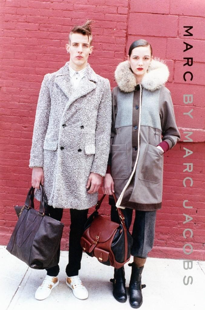 juergenteller:  Marc by Marc Jacobs autumn/winter 2012 advertisement.