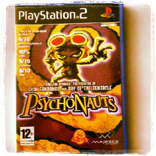Psychonauts - nová hra do zbierky #playstation #ps2 #games  (Taken with Instagram)