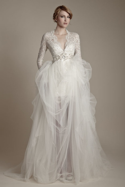 tastemysherryandbiscuits:  Ersa Atelier Russian Fairytale 2013 Bridal Collection