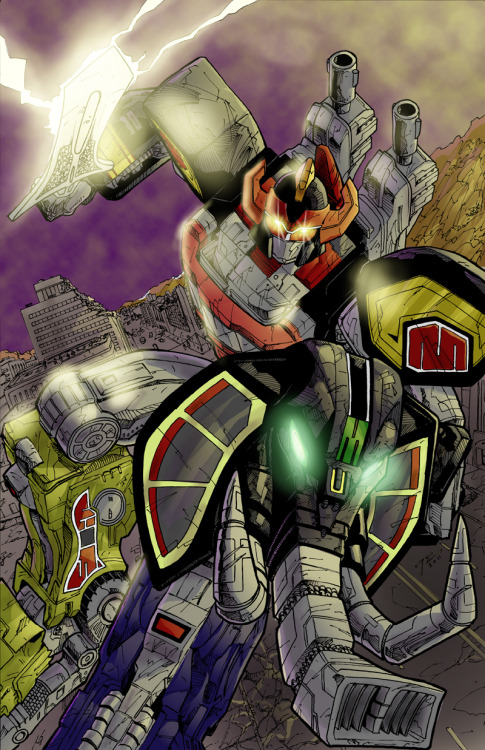 tooo!!! sic!!!!! MEGAZORD! by Travis Earls http://www.drawnblanks.com
