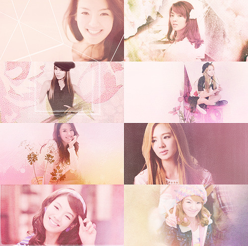 color+picspam: hyoyeon + pink (requested by: ayxieebz & sarangyos)
