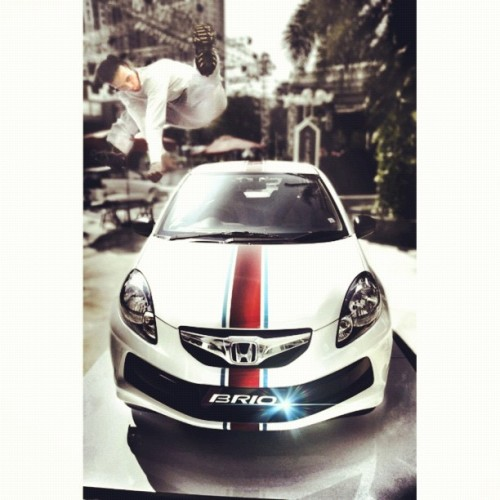 @hondaisme @moon_leap @gopegonews #iphonesia #instago #moonleap #hondabrio (Taken with Instagram)
