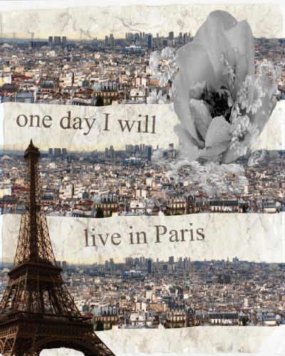 one day I will live in Paris (por laura-lupin)